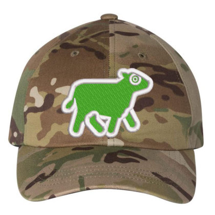 Cow Embroidered Hat Embroidered Dad Cap Designed By Madhatter