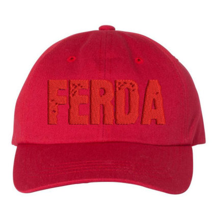 Ferda Embroidered Hat Embroidered Dad Cap Designed By Madhatter