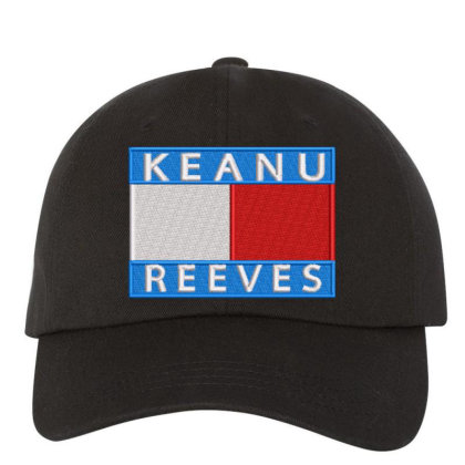 Keanu Reeves Embroidered Hat Embroidered Dad Cap Designed By Madhatter