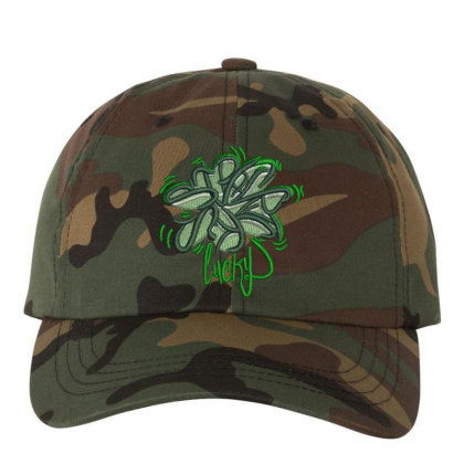 Lucky Embroidered Hat Embroidered Dad Cap Designed By Madhatter