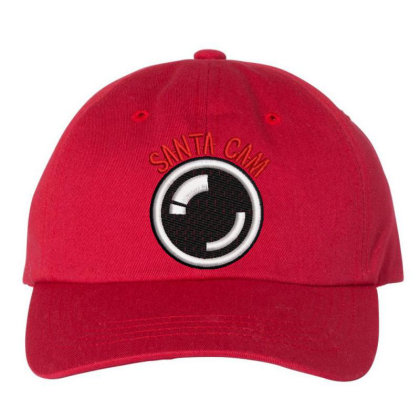 Santa Cam Embroidered Hat Embroidered Dad Cap Designed By Madhatter