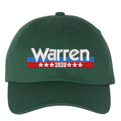 Warren 2020 Embroidered Hat Embroidered Dad Cap Designed By Madhatter