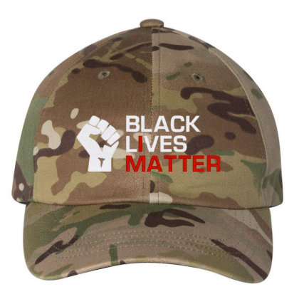 Black Lives Matter Embroidery Embroidered Dad Cap Designed By Madhatter