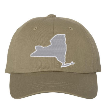 New York Embroidered Dad Cap Designed By Madhatter