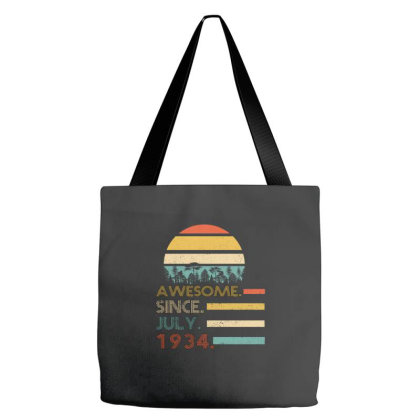Awesome Since July 1934 Tote Bags Designed By Bettercallsaul