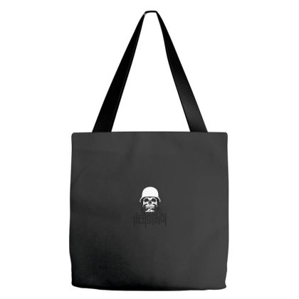 Skull Headshot Tote Bags Designed By Chiks