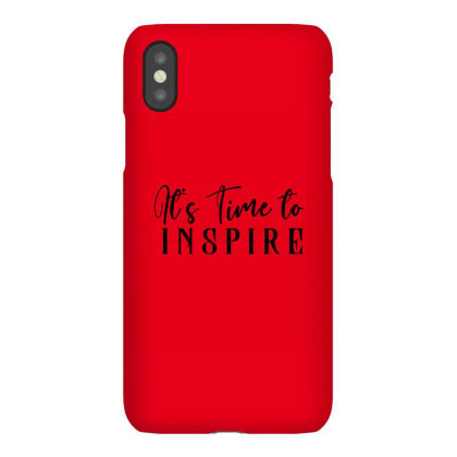 It's Time To Inspire Iphonex Case Designed By Chiks