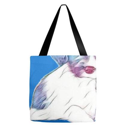 Portrait Of Cute English Spri Tote Bags Designed By Kemnabi