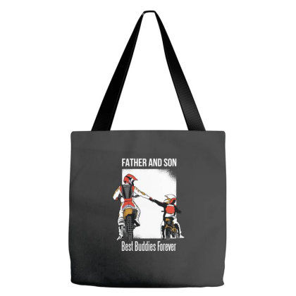 Father Son Best Baddies Tote Bags Designed By Bakari10