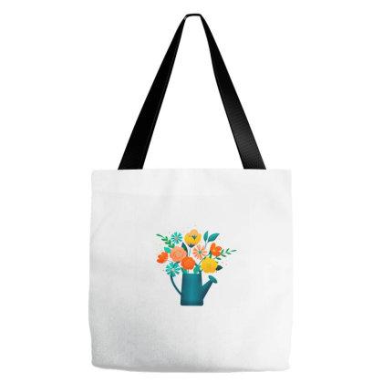 Flower Bouquet Tote Bags Designed By Chiks