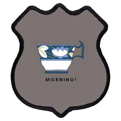 Morning! Shield Patch Designed By Varu_0210