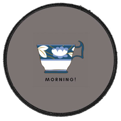 Morning! Round Patch Designed By Varu_0210