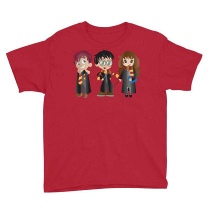 Harry Potter & Friends Youth Tee Designed By Hi5life
