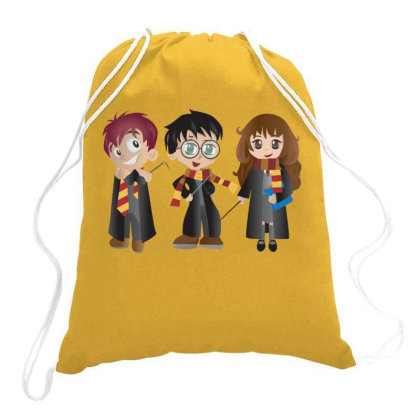 Harry Potter & Friends Drawstring Bags Designed By Hi5life