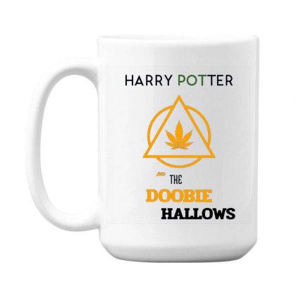 Doobie Hallows 15 Oz Coffe Mug Designed By Darthn00b
