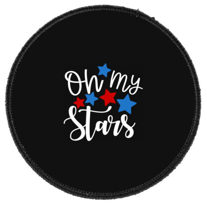 Oh My Stars Round Patch Designed By Tht