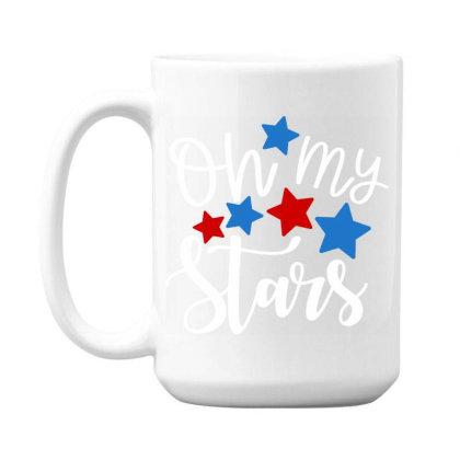 Oh My Stars 15 Oz Coffe Mug Designed By Tht