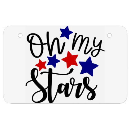 Oh My Stars Atv License Plate Designed By Tht