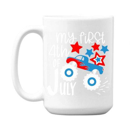 My First 4th Of July 15 Oz Coffe Mug Designed By Tht