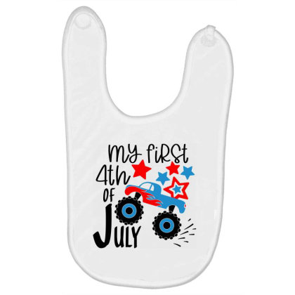 My First 4th Of July Baby Bibs Designed By Tht