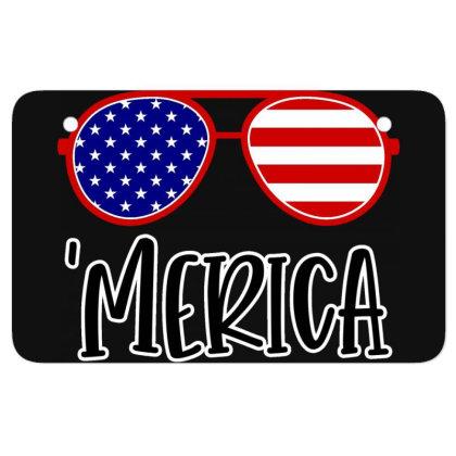 Merica Atv License Plate Designed By Tht