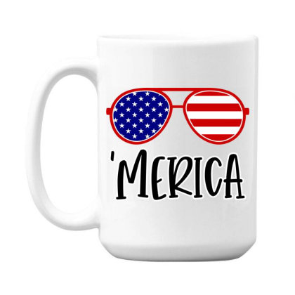 Merica 15 Oz Coffe Mug Designed By Tht