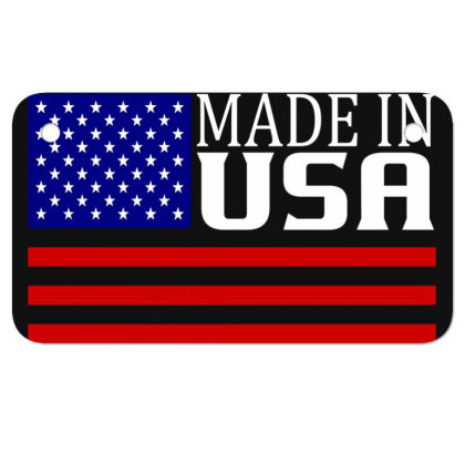 Made In Usa Motorcycle License Plate Designed By Tht