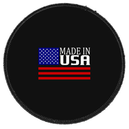 Made In Usa Round Patch Designed By Tht
