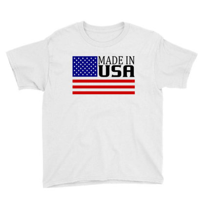 Made In Usa Youth Tee Designed By Tht