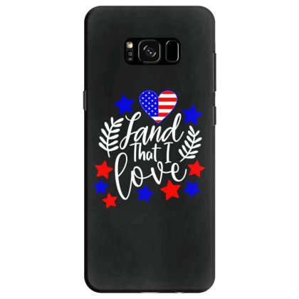 Land That I Love Samsung Galaxy S8 Case Designed By Tht