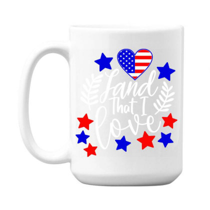 Land That I Love 15 Oz Coffe Mug Designed By Tht