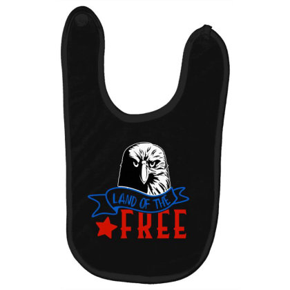 Land Of The Free Baby Bibs Designed By Tht