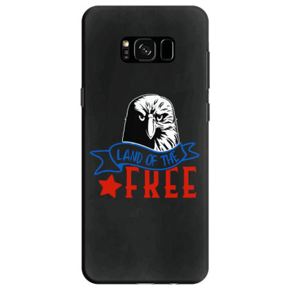 Land Of The Free Samsung Galaxy S8 Case Designed By Tht