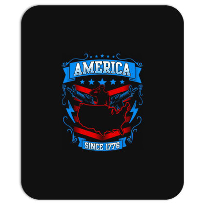 Great America Since 1776 Mousepad Designed By Tht