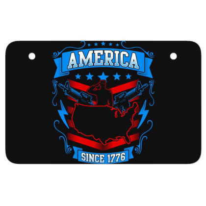 Great America Since 1776 Atv License Plate Designed By Tht