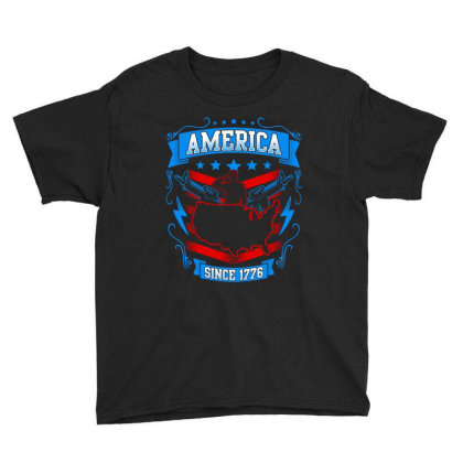 Great America Since 1776 Youth Tee Designed By Tht