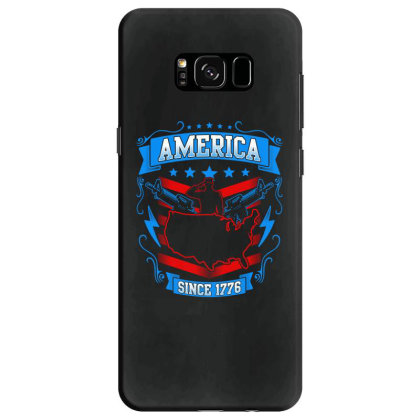 Great America Since 1776 Samsung Galaxy S8 Case Designed By Tht