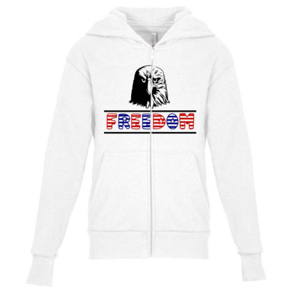 Freedom Youth Zipper Hoodie Designed By Tht