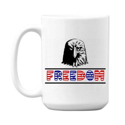 Freedom 15 Oz Coffe Mug Designed By Tht