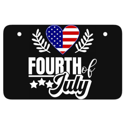 Fourth Of July Atv License Plate Designed By Tht
