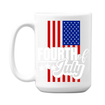 Fourth Of July 15 Oz Coffe Mug Designed By Tht