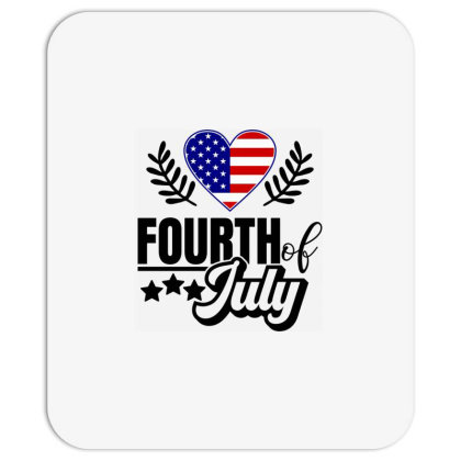 Fourth Of July Mousepad Designed By Tht