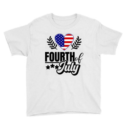 Fourth Of July Youth Tee Designed By Tht