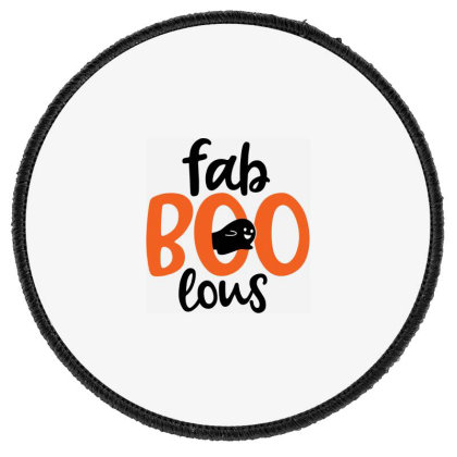 Faboolous Round Patch Designed By Tht