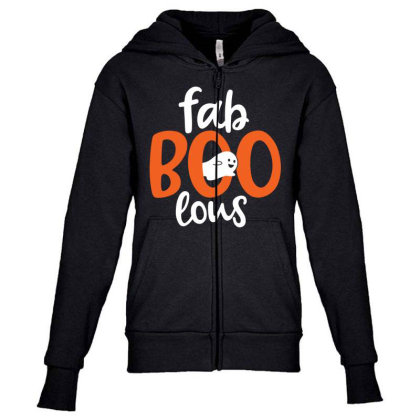 Faboolous Youth Zipper Hoodie Designed By Tht