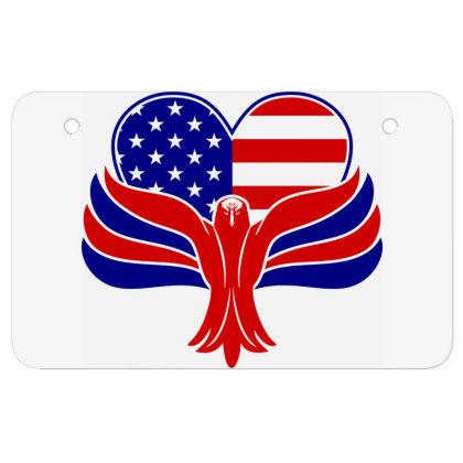 Eagle Heart Atv License Plate Designed By Tht