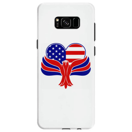 Eagle Heart Samsung Galaxy S8 Case Designed By Tht