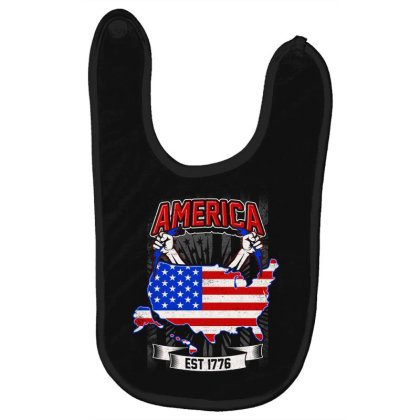 American Themed Baby Bibs Designed By Tht