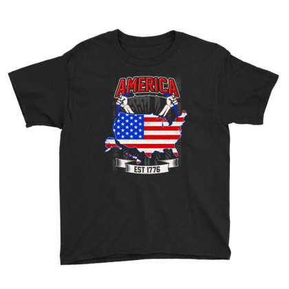 American Themed Youth Tee Designed By Tht