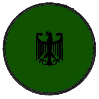 Bundeswehr German Army Eagle Round Patch Designed By Ampun Dj